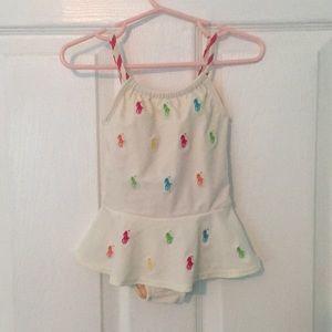 Ralph Lauren infant swim suit